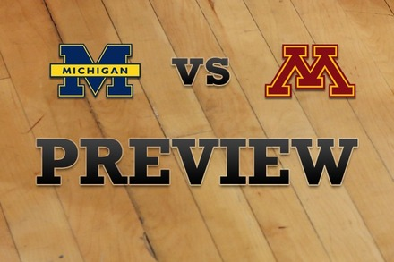 Michigan vs. Minnesota: Full Game Preview