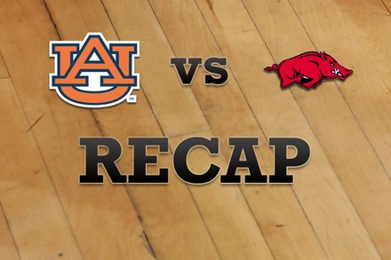 Auburn vs. Arkansas: Recap and Stats