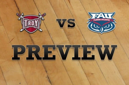 Troy vs. Florida Atlantic: Full Game Preview