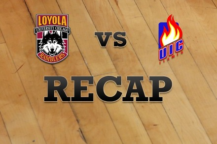 Loyola (IL) vs. Illinois-Chicago: Recap and Stats