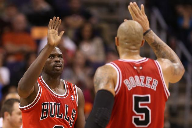 Chicago Bulls: Luol Deng and Carlos Boozer Carrying Team in Rose's Absence
