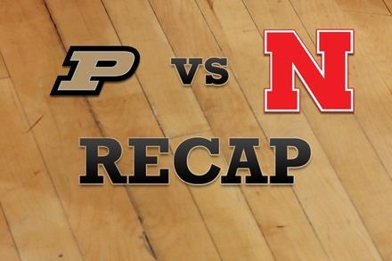 Purdue vs. Nebraska: Recap and Stats