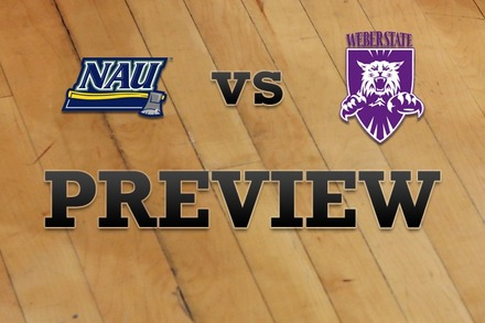 Northern Arizona vs. Weber State: Full Game Preview