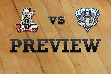 South Dakota vs. IPFW: Full Game Preview