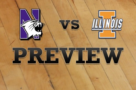 Northwestern vs. Illinois: Full Game Preview