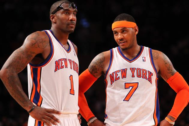 Carmelo Anthony Coexisting with Amar'e Stoudemire Is Key to 'Melo's MVP Chase