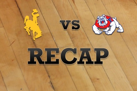 Wyoming vs. Fresno State: Recap and Stats