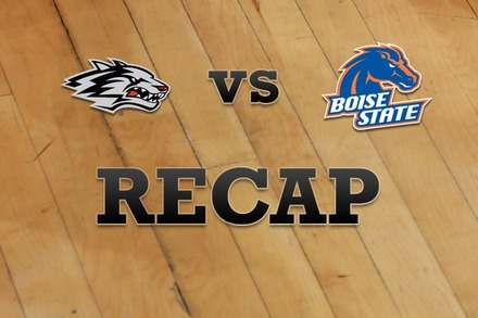 New Mexico vs. Boise State: Recap and Stats