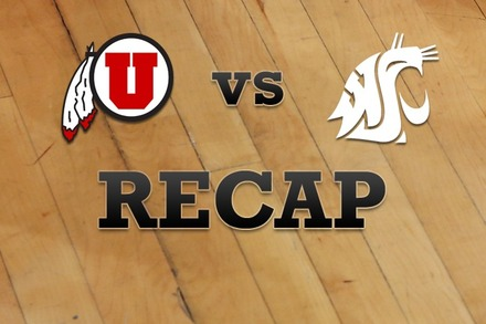Utah vs. Washington State: Recap and Stats