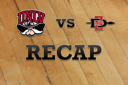 UNLV vs. San Diego State: Recap and Stats