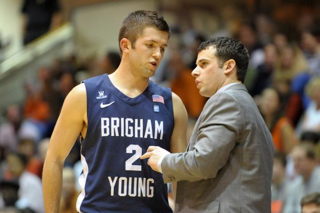 BYU Men's Basketball: St. Mary's Buzzer-Beater Clips BYU 70-69