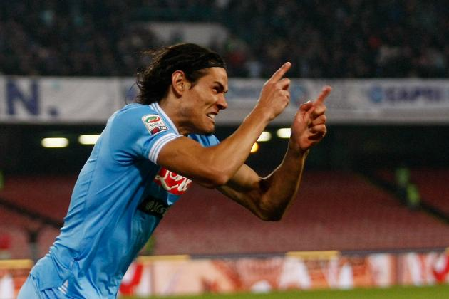 Arsène Wenger Confirms Arsenal Interest in Napoli's Edinson Cavani