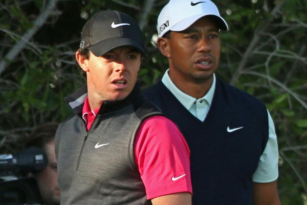 McIlroy and Woods Struggle in First Round of Abu Dhabi Championship