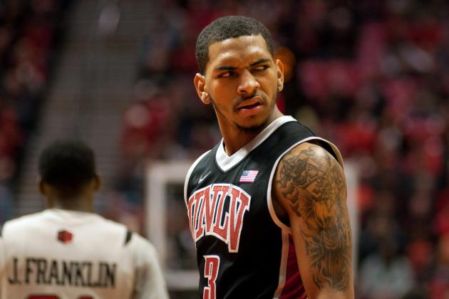 Quirky Lineup and Determined Point Guard Led UNLV to Victory at SDSU