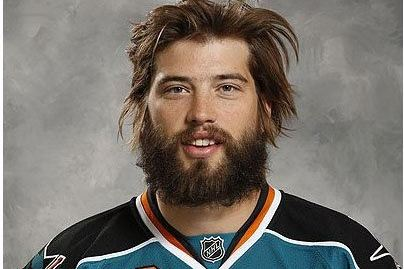 Brent Burns' Hilariously Terrifying NHL Headshot