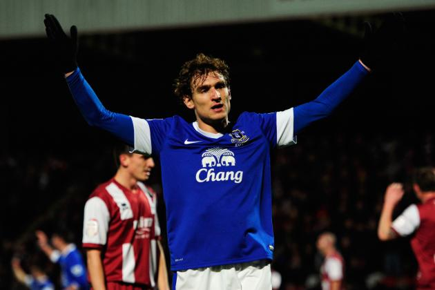 Nikica Jelavic Needs Quick Return to Form for Champions League Chasing Everton