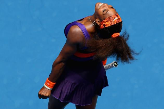 Serena Not Slowed by Ankle, Coasts at Aussie