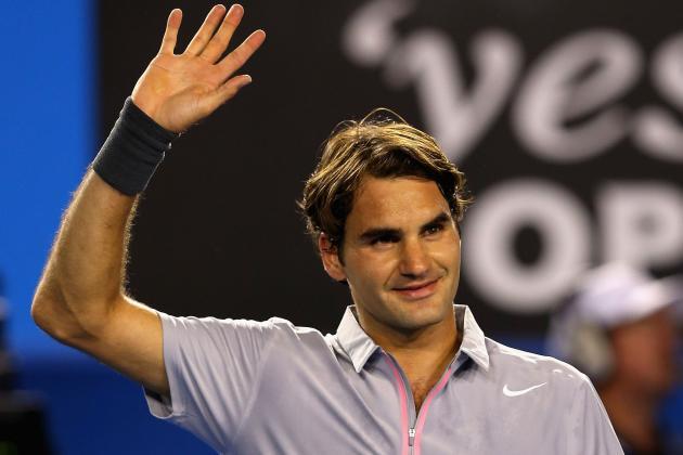 Federer, Murray Advance at Aussie Open
