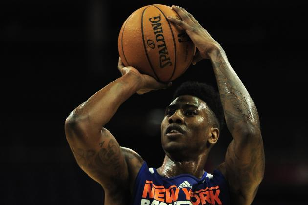 Knicks: Mike Woodson Says Iman Shumpert Will 'Probably' Start vs. Pistons