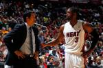 Wade Not Upset at Spoelstra Over Benching