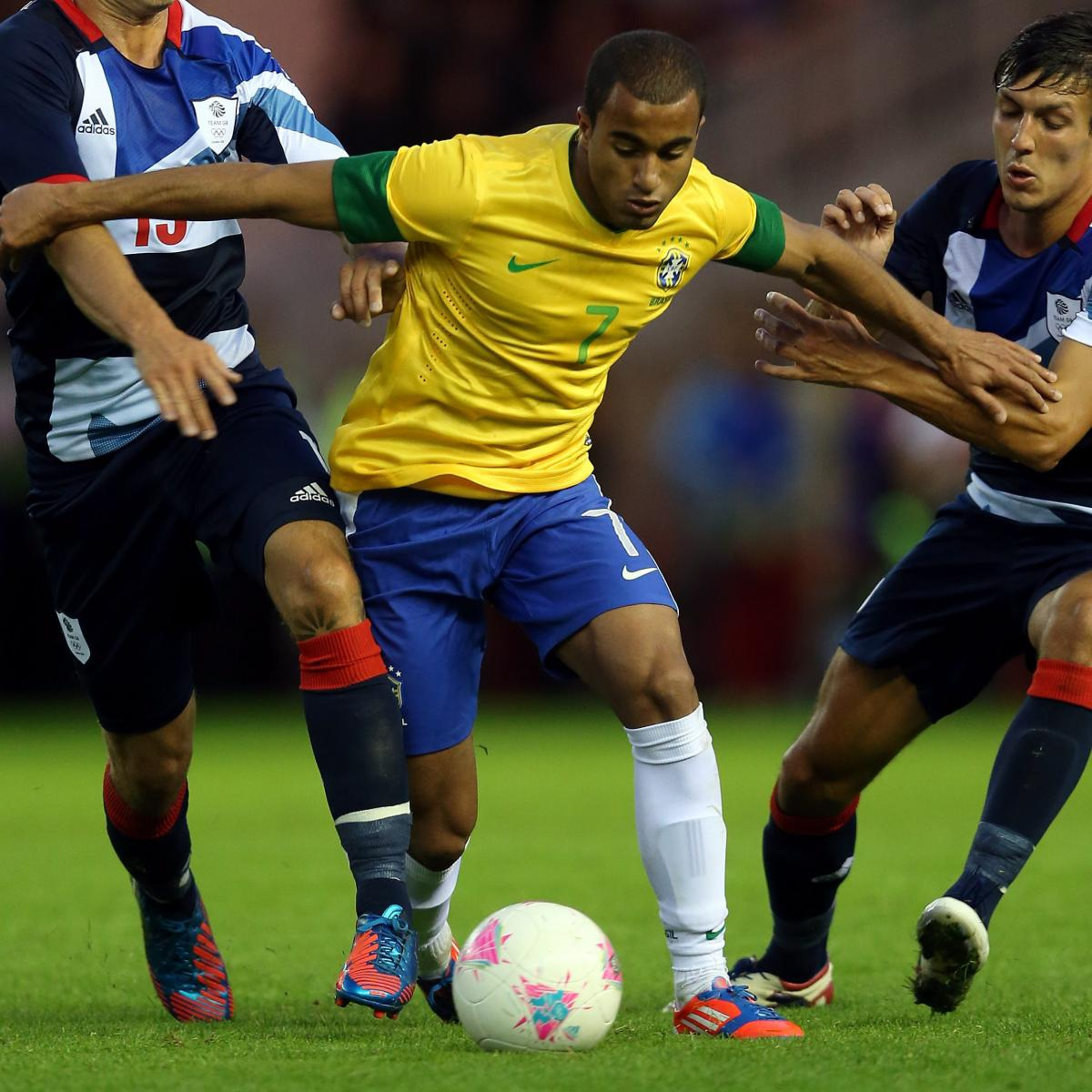 Lucas Moura In Brazil Squad: FIFA World Rankings Place Brazil 18th, Reinforce Flawed