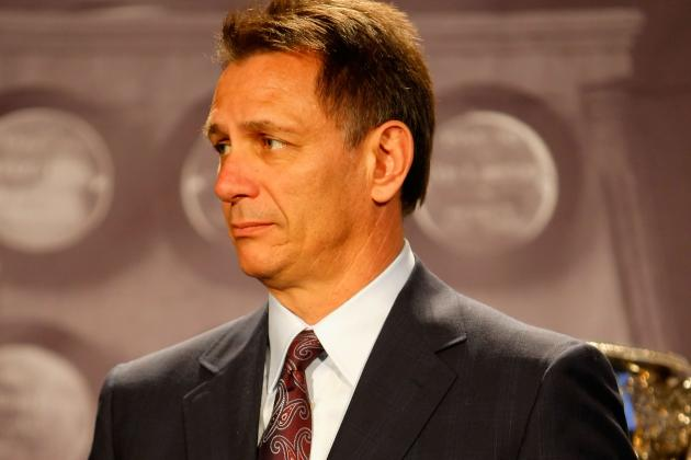 "Ken Holland: ""We Might Not Make the Playoffs"""