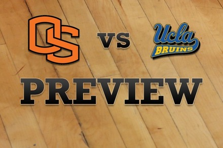 Oregon State vs. UCLA: Full Game Preview