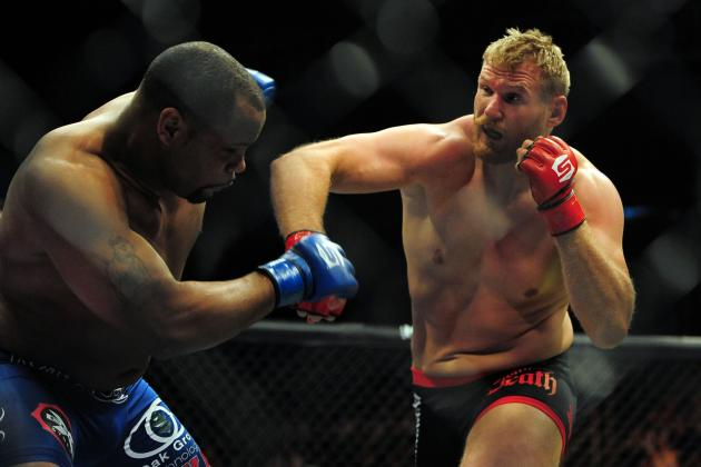 UFC Adds Heavyweight Josh Barnett's Fighter Profile to Official Website