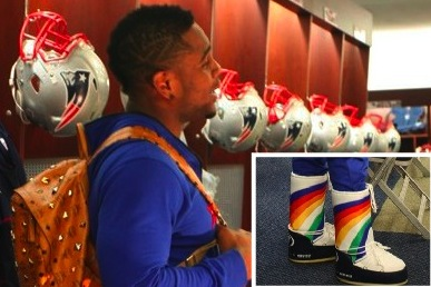 What's Stevan Ridley Wearing?