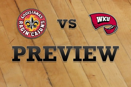 Louisiana-Lafayette vs. Western Kentucky: Full Game Preview