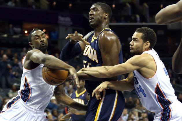 Roy Hibbert Paid Pacers Reserves to Keep Defensive Clamps on Bobcats