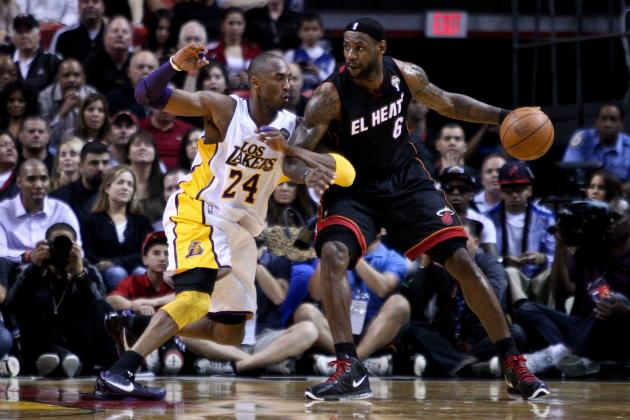 Kobe Bryant Says He's Best 1-on-1 Player Ever, Would Beat LeBron James