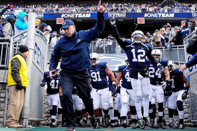 Penn State Football: How Many Wins Do Nittany Lions Need for 2013 to Be Success