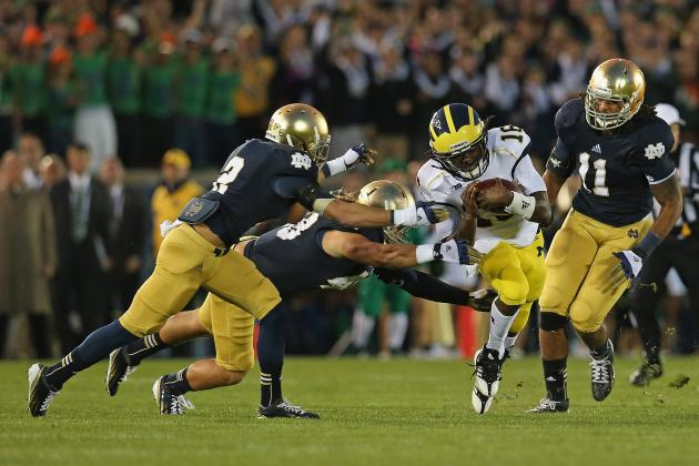 Michigan Won't Be the Notre Dame of the 2013 Season