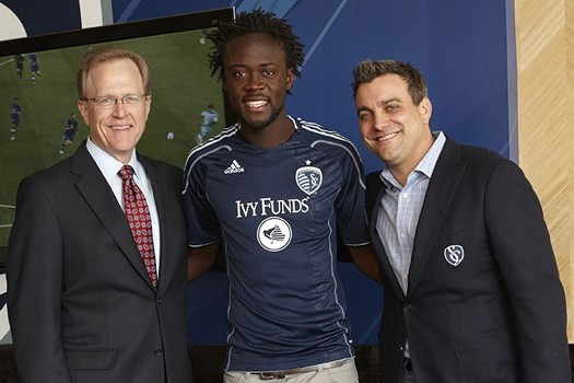Sporting KC Introduces Ivy Funds as Club's First-Ever Jersey Sponsor