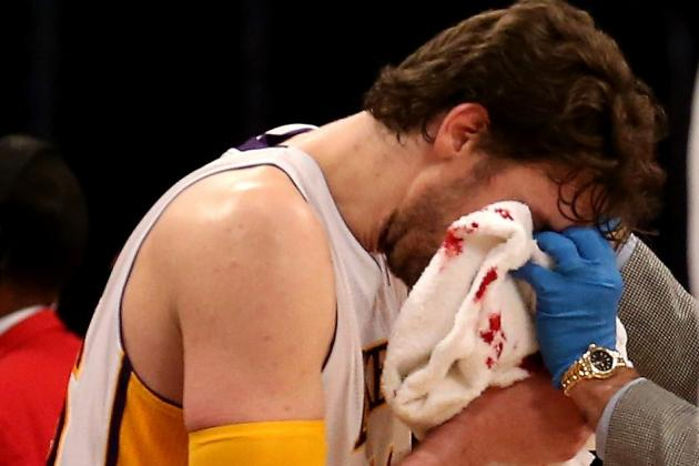Pau Returning off Bench vs. Heat