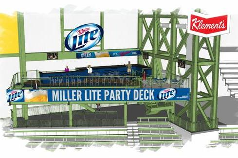 Brewers Announce New Miller Lite Party Deck
