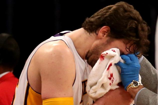 Pau Gasol to Play Thursday vs. Miami Heat