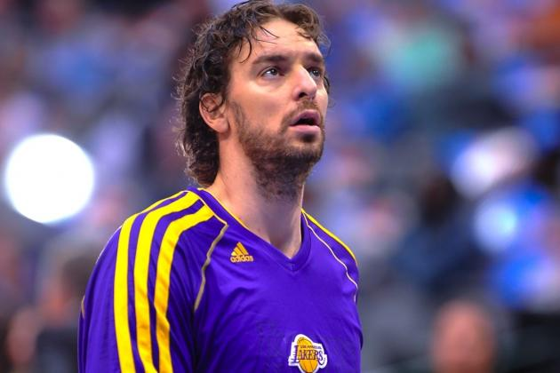 Pau Gasol Injury: Latest Updates on Lakers Star's Concussion