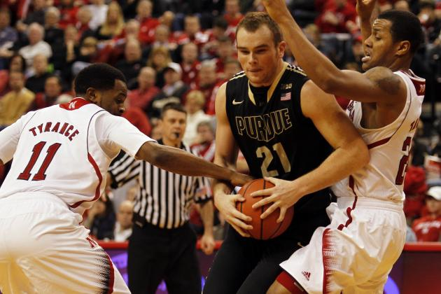 Men's College Basketball: Johnson Helps Purdue Deny Huskers' Rally