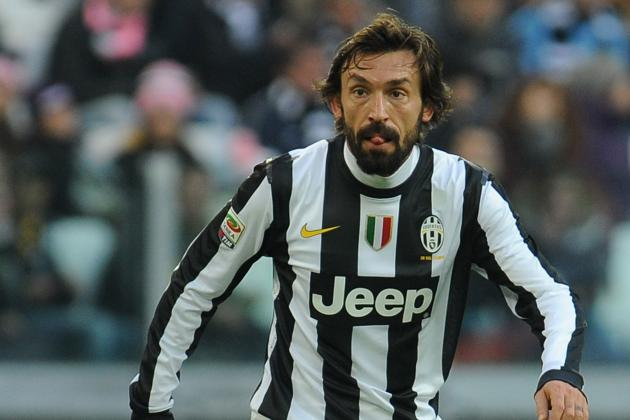 Pirlo Named in UEFA.com Team of the Year!