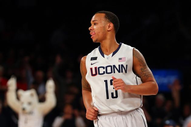 Shabazz Napier Sidelined by Shoulder Injury, Hopes to Play Saturday vs. Pitt