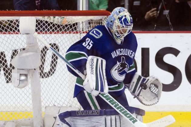 Canucks' Goalie Schneider Knows His Opportunity to Shine Has Finally Arrived