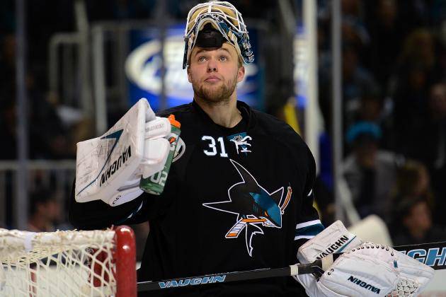 San Jose Sharks Goalie Antti Niemi Looks for Improvement