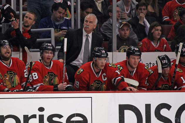 Video: Hawks' Quenneville on Setting Roster