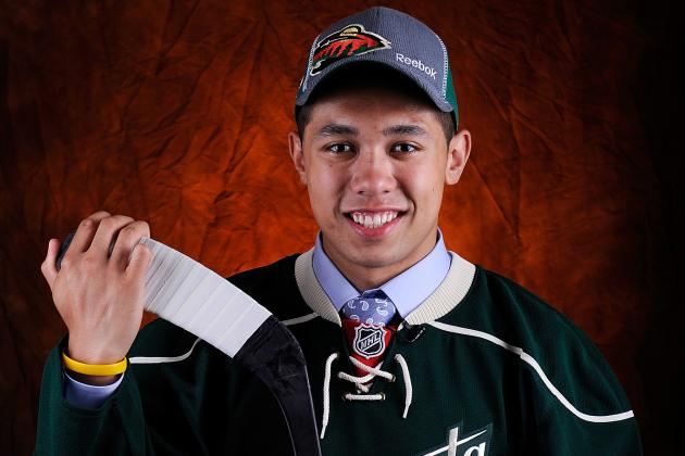 Wild Place Rookie Defenceman Dumba on Opening Roster