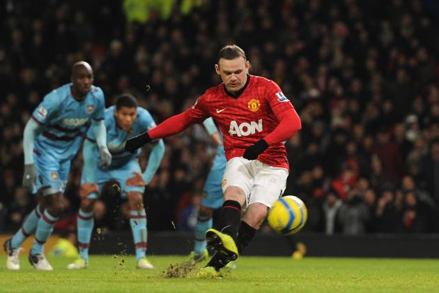 Wayne Rooney, Demba Ba: Knees Key in Premier League