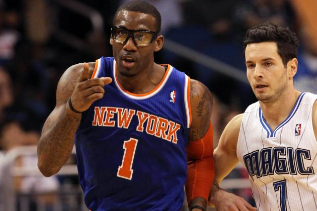 How NY Knicks Frontcourt Injuries Impact Expectations for Amar'e Stoudemire