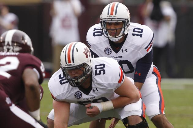 Auburn Football: Tigers' Offensive Line Will Be Most Improved Unit in 2013
