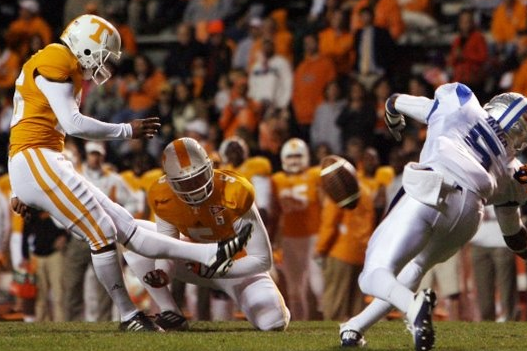 Tennessee Walk-Ons Brodus, Drummer, West Receive Scholarships